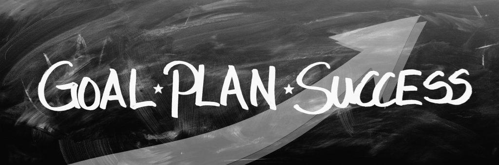 Beratung bedeutet Ziel, Plan und Erfolg