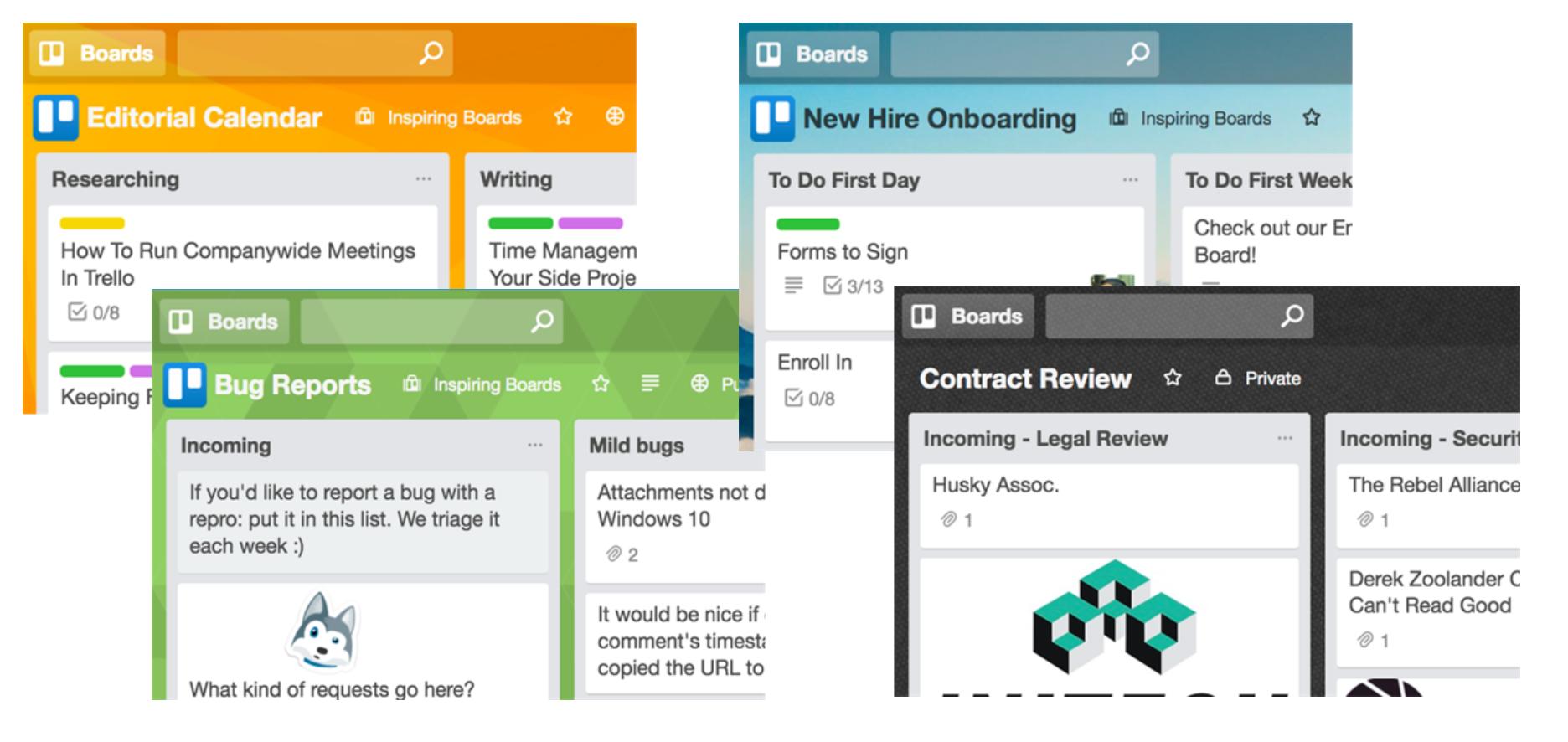 Atlassian Trello – structure your ideas in boards