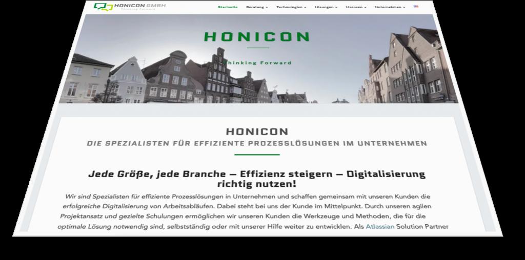 Honicon Website German