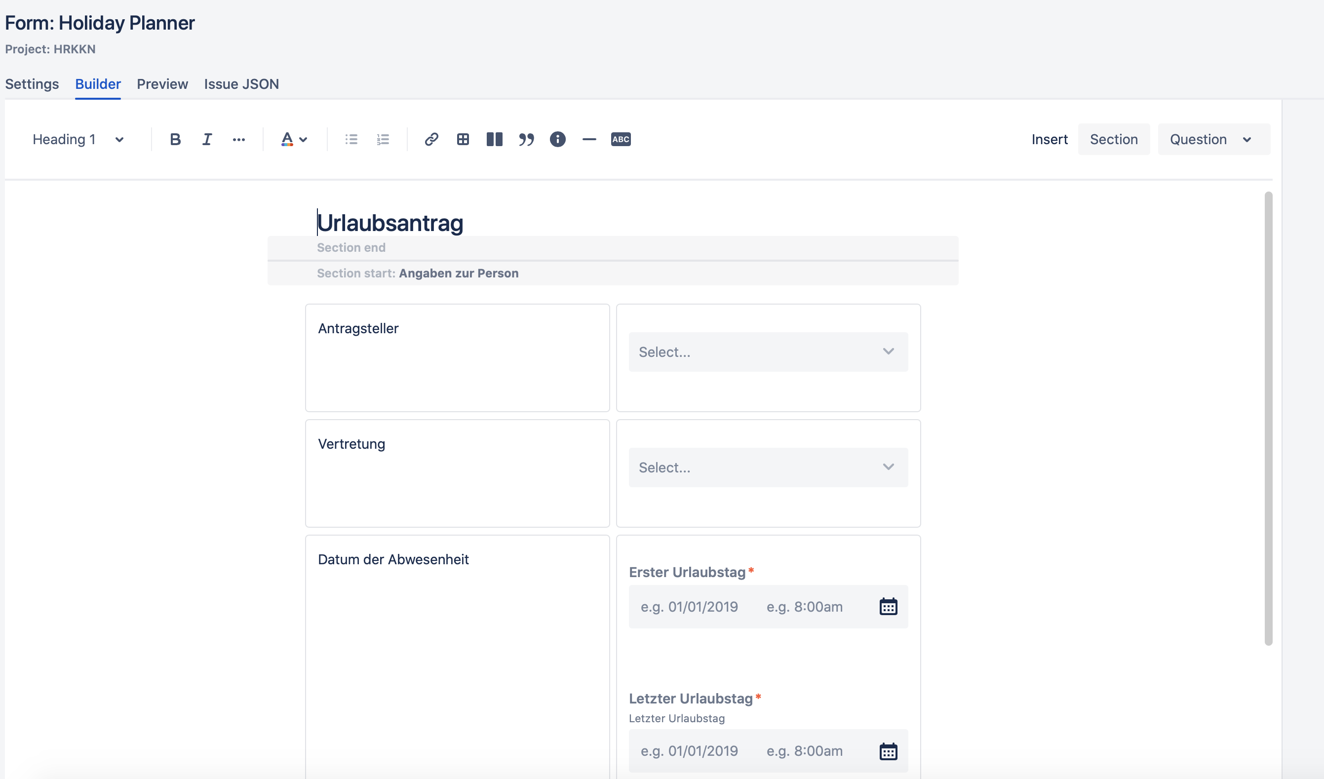 ProForma: Formulare & benutzerdefinierte Felder für Jira